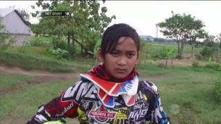 Sheva Ardiansyah, Gadis Cilik Sang Pembalap Motocross