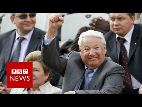The day Boris Yeltsin said goodbye to Russia BBC News