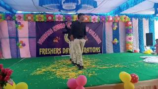 Mj5 dance performance by sam group in vignana sudha degree college