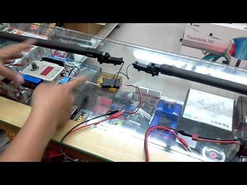 【天鷹遙控】TAROT 塔羅 TL8X001 大型電動收腳系統  接線示範
