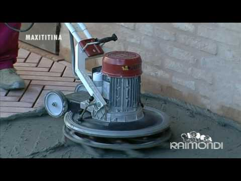 RAIMONDI SPA GROUTING AND CLEANING SYSTEM