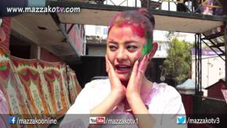 Mazzako Holi Guff with Susma Karki || Holi 2072 || Mazzako TV