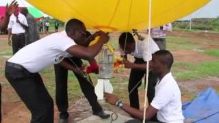 Students in Ghana Launch Satellite Prototype