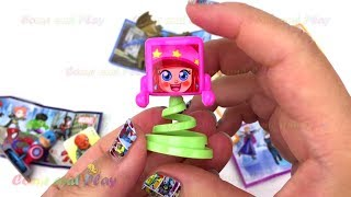 Super Surprise Eggs Kinder Surprise Kinder Joy Superhero Minions Disney Princess Learn Colors Kids