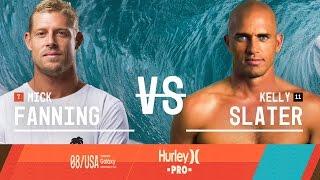 Kelly Slater vs. Mick Fanning - Hurley Pro at Trestles 2015