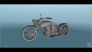 Chopper Bike modelling in blender 2.73 & 2.74(Part 1)