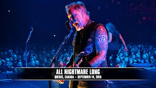 Metallica: All Nightmare Long (MetOnTour - Quebec City, Canada - 2015)