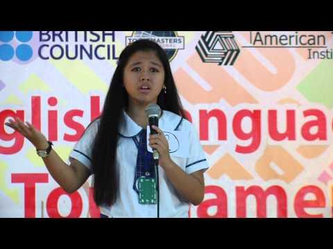 Extemporaneous Speech Contest - Finalist #01