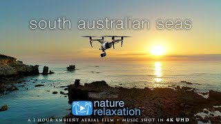 South Australia by Drone (4K) 1 Hour Nature Relaxation™ Ambient Film + Light Calming Music