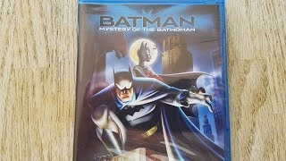 Batman: Mystery of the Batwoman Blu-ray Unboxing