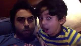 Ziaul Faruq Apurba & Zaayan Ayyash Faruq Funny Video