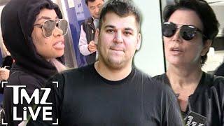 Kris Jenner Arrives To Save Rob Kardashian   TMZ Live