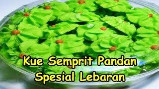 Resep Cara Membuat Kue Semprit Pandan Spesial Lebaran