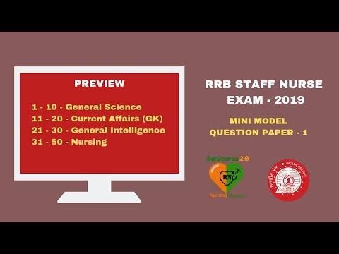 Xxx Mp4 RRB Staff Nurse Exam Model Questions Part One 3gp Sex