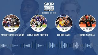 Patriots investigation, Jets/Ravens preview, LeBron James, Baker Mayfield | UNDISPUTED Audio Podcast