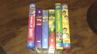 My Wiggles VHS Tapes That Are In
