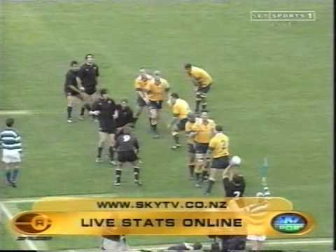 Fantastic All Blacks Try v Wallabies 2000