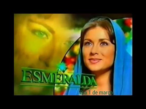 Chamada de Esmeralda no nosso canal SBT LIFE 01 03 2017 .