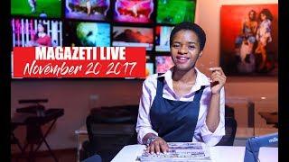 MAGAZETI LIVE: Mke wa Lissu afunguka waliofanya shambulio, Msafara wa Nyalandu wapigwa mabomu