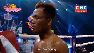 Khmer Boxing,ធន់ ចាន់តាក់ ប៉ះ អាមីនី Thun Chantak Vs Amini EiSa (Thai),Kun Khmer Boxing CNCTV Boxing