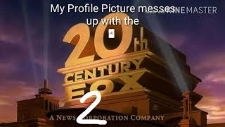 My Profile Picture messes up with the 20th century fox logo 2