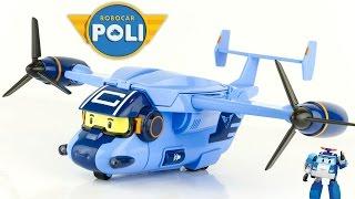 Nouveau Robocar Poli Cargo Avion Transporteur Jouet Toy Review 로보카폴리 Робокар Полиen