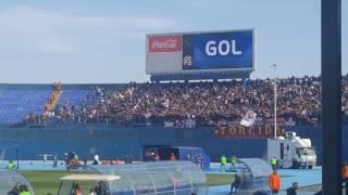 Slavlje Torcide i igrača Hajduka nakon drugog gola