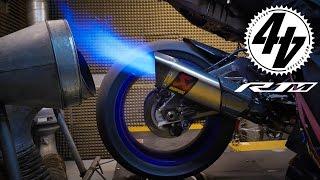 Flaming Yamaha R1M EARGASM