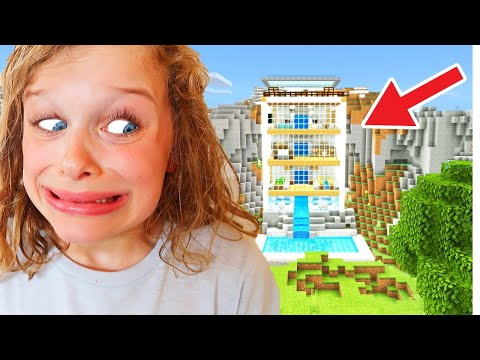 BEST MOUNTAIN HOUSE in Minecraft Wins Mystery Box w The Norris Nuts