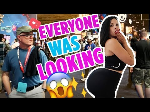 24 HOURS Wearing A FAKE BIG BUTT - PEOPLE WERE STARING 😫  Mar