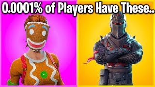 TOP 10 RAREST SKINS IN FORTNITE! (nobody watching this has #1)