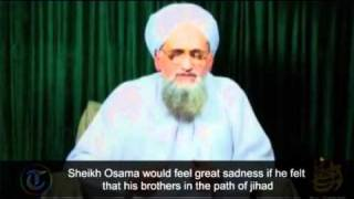 Al-Qaeda's Al-Zawahiri praises Osama bin Laden in new video message