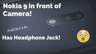 Nokia 9 Poses for Cameras but keeps its design secret - Dual Cameras Specs and Price Revealed