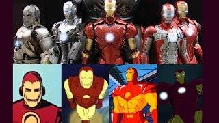 Iron Man - Evolution in TV & Cinema
