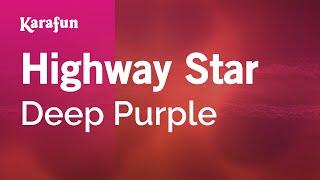 Karaoke Highway Star - Deep Purple *