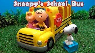 Ônibus do Snoopy vira Escolinha   Snoopy