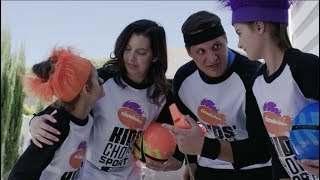 Cartwheel and Tennis Ball Challenge   Bratayley