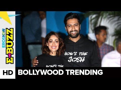 Yami Gautam and Vicky Kaushal at a success party | Bollywood News | ErosNow eBuzz