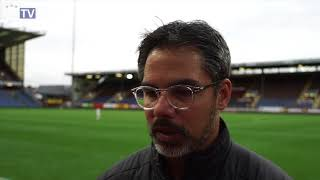 WATCH: David Wagner reflects on draw with Burnley
