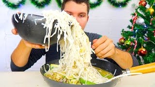 Massive Vietnamese Pho Noodle Challenge  • MUKBANG