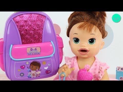 Xxx Mp4 La Nueva Mochila De SARA Baby Alive Llena De Juguetes Y Accesorios Disney 3gp Sex