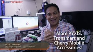 Vlog S01E04: Affordable Accessories from PYXIS, Tronsmart and Cherry Mobile (**GIVEAWAY**)