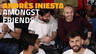 Andrés Iniesta amongst friends: football talks