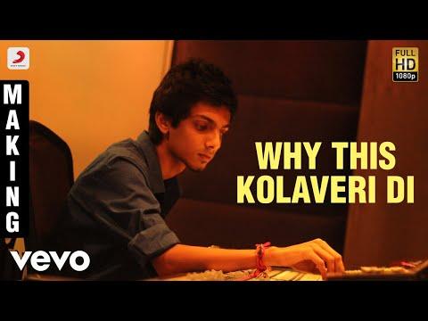 Xxx Mp4 3 Why This Kolaveri Di Making Video Dhanush Shruti Anirudh 3gp Sex