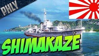 World Of Warships SHIMAKAZE Tier 10 Japanese Destroyer! EPIC TORPEDO'S!