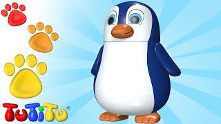 TuTiTu Animals | Animal Toys for Children | Penguin and Friends
