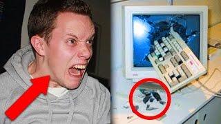 أعنف 5 ردات فعل في  تاريخ الألعاب|DZC-64-#Top 5 Angry Gamers