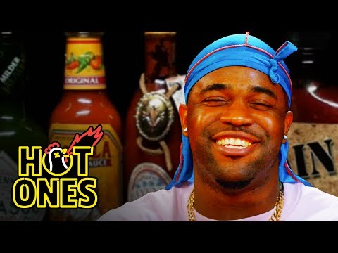 Xxx Mp4 ASAP Ferg Harlem Shakes While Eating Spicy Wings Hot Ones 3gp Sex