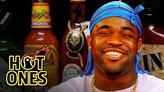 ASAP Ferg Harlem Shakes While Eating Spicy Wings | Hot Ones