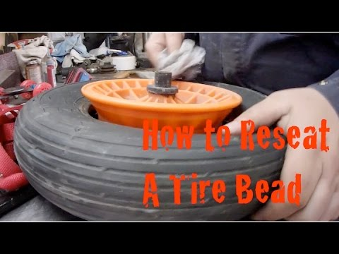 How to Reseat the Bead on a Tire DIY